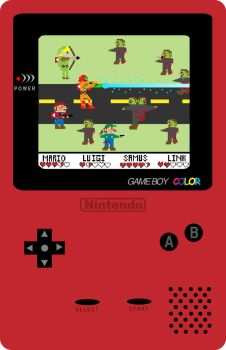 Nintendo Zombies by Robbs-Designs
