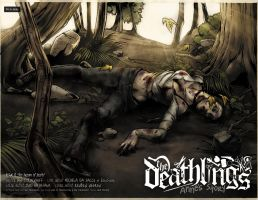 Deathlings 0 Final Spread by IanStruckhoff
