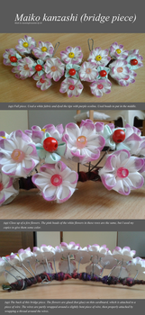 Maiko kanzashi (bridge piece) by meaninglessanime