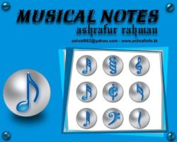 Musical Notes by ashraf882