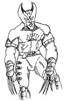 Wolverin re-design by jakester2008