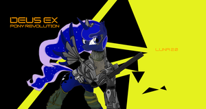 Deus Ex:Pony Revolution by Rixnane