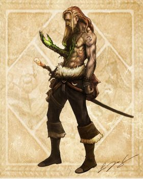 devilhand pirate by jasson78