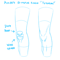 Ambi's Simple Knee Tutorial by Graphics-PP
