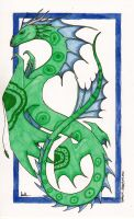 Green and Blue by Aireane01