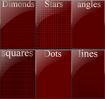 6 seamless background patterns by chuloc