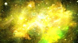 Space Frontier: Sunflower Nebula by NathanBlackwolf