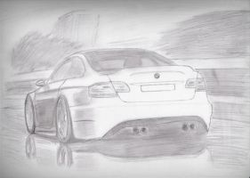 BMW E92 M3 by blackdoggdesign