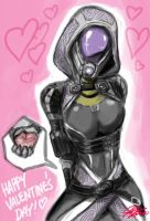 Happy Valentines Day from Tali by johnjoseco