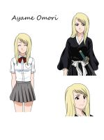 Ayame Omori - Bleach OC by Fullmetals-Lover