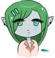 Elf OC by Vuix