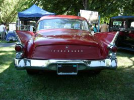 1961 Studebaker Hawk red butt by RoadTripDog