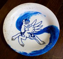 Princess Luna Plate by Chirpy-chi