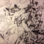 Scarlet Spider Commission WIP 4 by WaldenWong