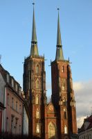 Cathedral in Wroclaw by Risandell