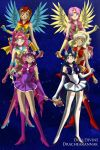 Sailor Elements of Harmony by missyalissy