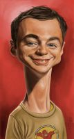 SHELDON COOPER by JaumeCullell