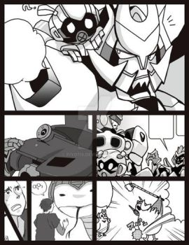 TF 2007 movie manga sample by piyo119