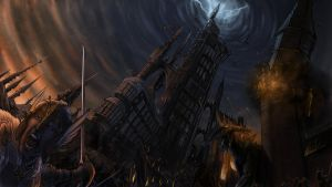 The Battle of the Black Tower by jorgecarrero