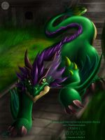 The forest guardian verdurous draconer iRyvius by thefastzza