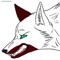 Snarling Redpatch by blackstormwarrior