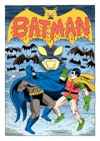 Batman 349 Cover by Teagle