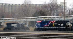 Honoring Our Veterans # 6920 passing Ex-Conrail by EternalFlame1891
