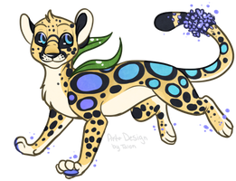 Vervain Cheetah Adopt CLOSED! by TalonEX