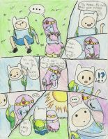 Adventure Time: Finn, Jake, and P.J  -pg 1- by K0MPY