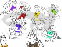 The Racorzian Dodge Ball Team by ShardianofWhiteFire