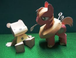 Papercraft - Ponies + Bears by SariousSleuth