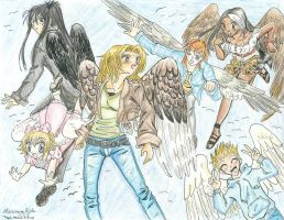 Maximum Ride by MewKaylathevampire