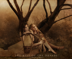 The Rest Of The Dryads by LunarShore