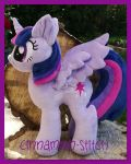 mlp twilight sparkle plushie available today by CINNAMON-STITCH