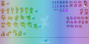 Danith98 Kirbian - Sprite Sheet Help by Bar-Kun