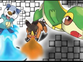 New Starters by MasterCharizard101