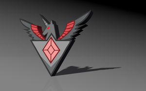 HD/3D Alicorn Amulet I made in C4D + Download by Cynder2d