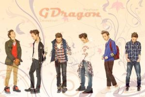 GDragon LOVE by pen-point