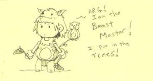 The happy Beast Master by J4sonH4n