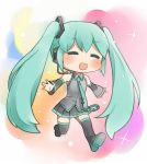 happy lucky Miku by grimay
