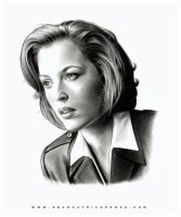 AGENT DANA SCULLY by S-von-P