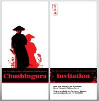 Chushingura Invitation by eep