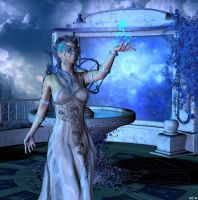 Blue Moon Magic by Hera-of-Stockholm