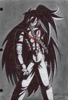 Shingo Hibiki: Hate and Pain by Gothicdarkness