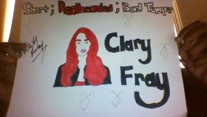 Clary Fray is short, redheaded, and bad tempered by DaddyzGirl30