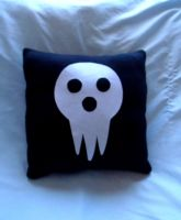 Shinigami Pillow by CynicalSniper