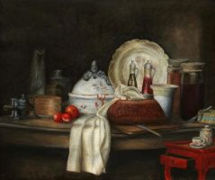 Chardin's butler's table by Niuta71