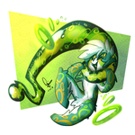 Gift: Fun Doodly Goo Green Babyfloat by 7-Days-Luck