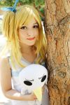 Lucy Heartfilia Cosplay 3 by DEATHNOTE---L