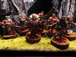 40k Chaos Cultists by Minisnatcher